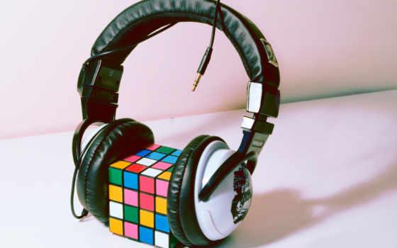 рубика, кубик, обои, фото, кубика, наушники, много