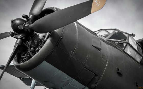 пропеллер, aircraft, кабина
