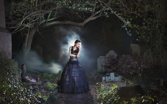 кладбище, art, inspired, фото, feature, магия, ночь, gear,
