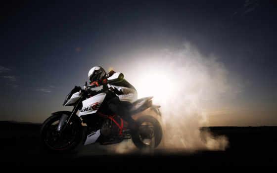 мотоцикл, yamaha, монитора