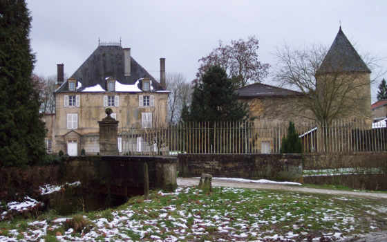 castillos, paisajes, gratis, meuse, cesse, франция, fondos, lorraine, sur, laneuville,