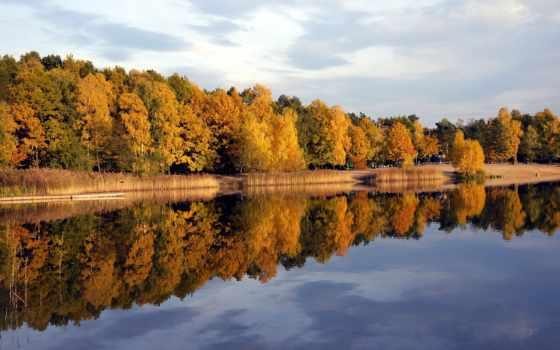 jezioro, озеро, turawa, fondos, tapety, silver, polska, pantalla,