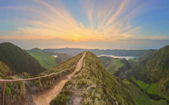 mountains, landscape, горы, dusk, картинка, гора, озеро, free,