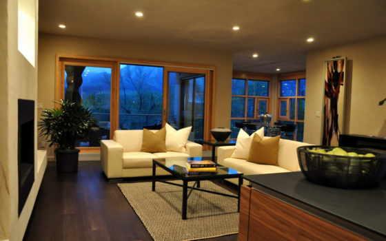 интерьер, вилла, дизайн, жилая, комната, дом, стиль,