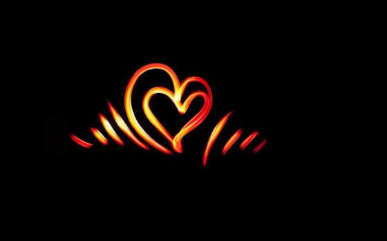 сердце, линии