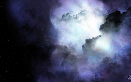 космос, туманность Фон № 24180 разрешение 1920x1036