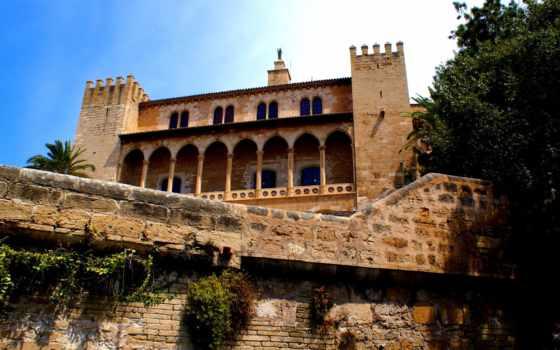 испания, города, дворец