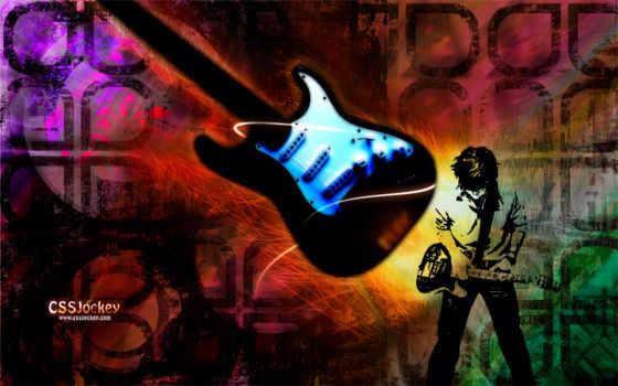 гитара, музыка, rock