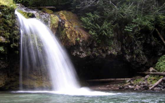 широкоформатные, водопад, водопады, small,