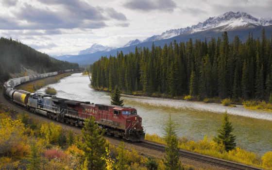 поезда, композиция, железная, дорога, банка, грузовой, техника, фотографий, страница,