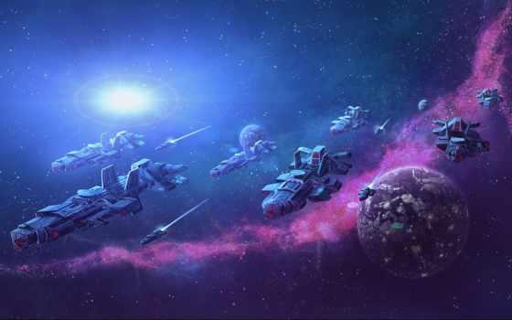 cosmos, космос, космическая, армада, art, deviantart, корабль, intersellar, cosmic,