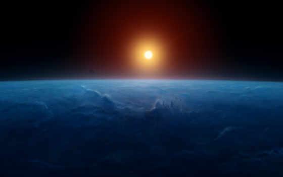 android, горизонт, earth, восход, windows,