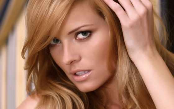 глаза, девушка, attractive, модель, волос, faces, женский,