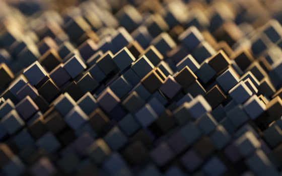 abstract, cubes, креатив, shapes, geometric, desktop, фотообои,