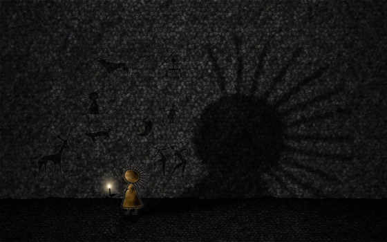тень, рисунки