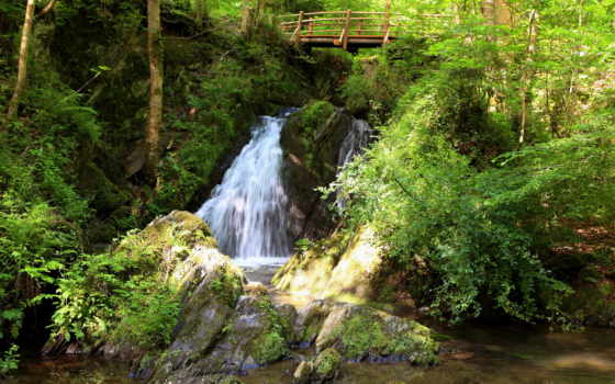 природа, водопады, водопад