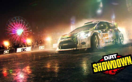 dirt, showdown, игры Фон № 118757 разрешение 3200x1800