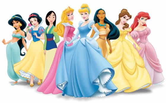 disney, принцесса, принцессы