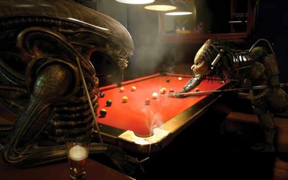 хищник, billar, fondos, чужие, aliens, против, хищника, pantalla, avpr,