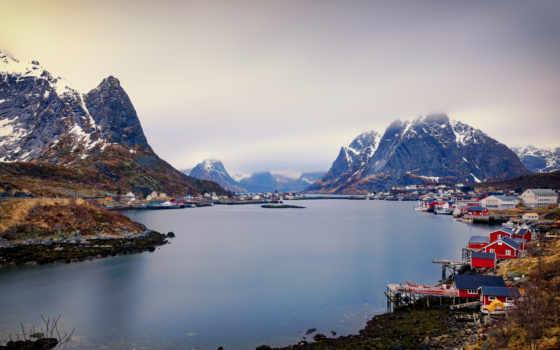 тв, norwegen, reine, die, lofoten, sony, интернет, ag