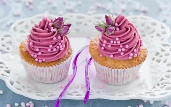 кексики, розовые