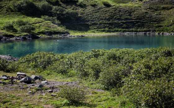 музыка, камчатка, озеро, природа, медитация, desktop, изображение, кусты, картинка,