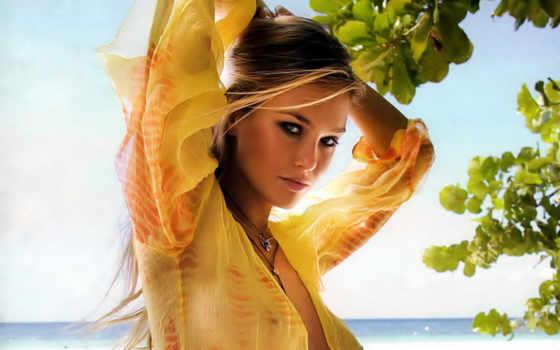девушка, devushki, прозрачной, women, bar, кофточке, желтой, женщина, dresses, refaeli,