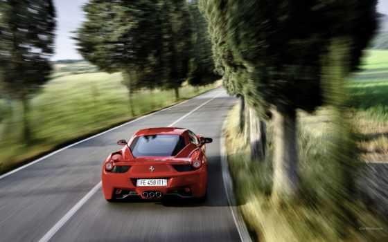 ferrari, драйв, coupe, модели, italy, italia, авто, card, description,