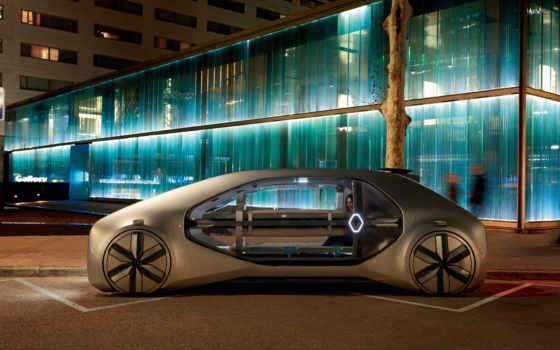 renault, ez, concept, каршеринга, который, car, будущего, представляет, drone,