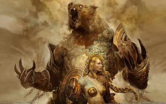 wars, guild, god, war, игры, nu, компьютерные, õ½, eye, north, коричневое, оружие, games, фэнтези,