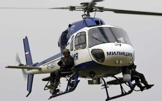 police, вертолет