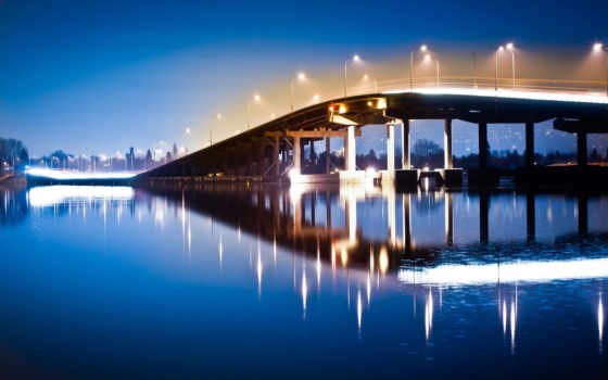 water, long, photography, exposure, ночь, twitter, огни, rivers, bridges,