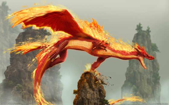 дракон, fantasy, игры