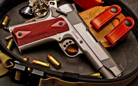 , Colt, XSE, пистолет, патроны,
