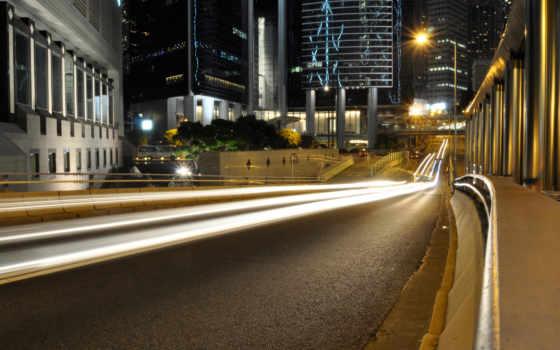 ночь, улица, город