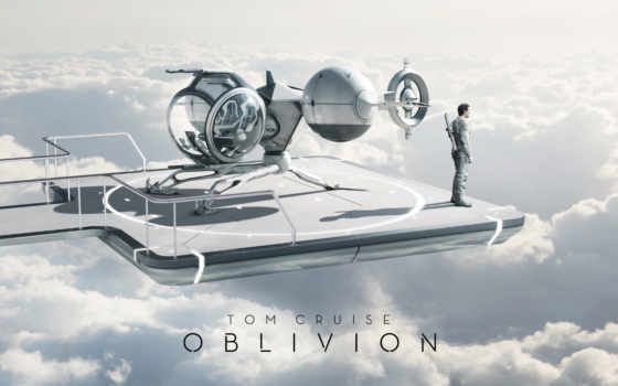 oblivion, movie, tom Фон № 120846 разрешение 2880x1800