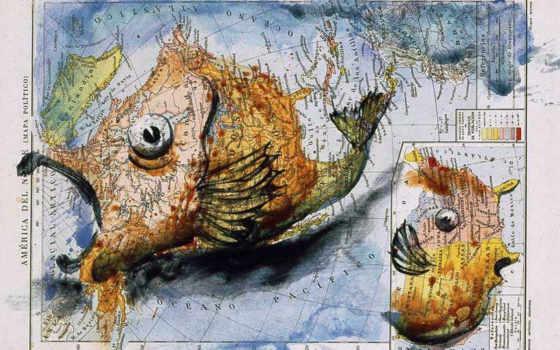 map, американский, фернандо, vicente, лицо, artist, атлас