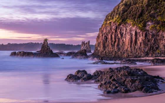 galicia, лунно, пляж, стрижка, волосы, календарь, супер, испания, побережье, море, виджет