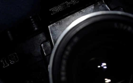 объектив, фотоаппарат, зенит, макро