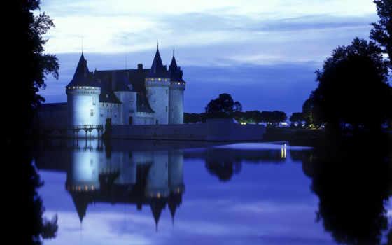 sully, франция, loire, sur, chateau, loiret, architecture, мира, castle,
