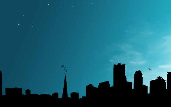 city, небоскребы