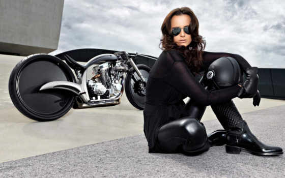мотоциклы, девушки, девушками