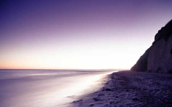 берег, скалы, море