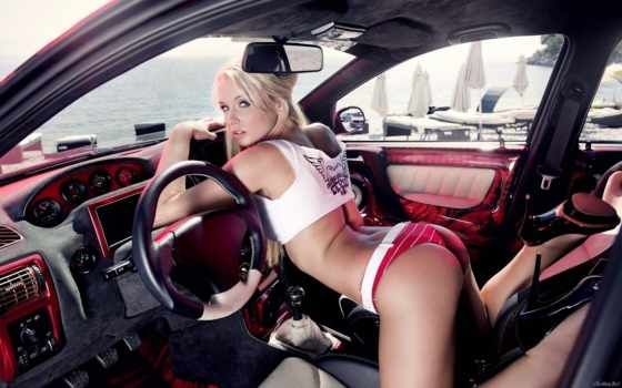 ass, бикини, car