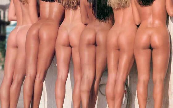 попки, голые, erotica