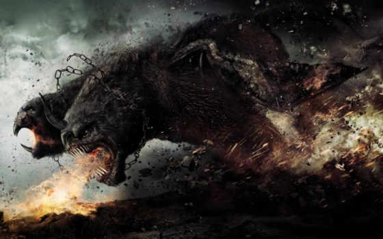 злость, monster, битва, god, титанов, химера,