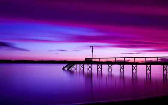 free, фиолетовый, mobile, телефон, фиолетовые, landscape, фиолетовое, заставки, закат,