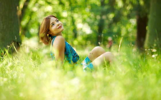 summer, девушка, come, свет, фоны, настроение,