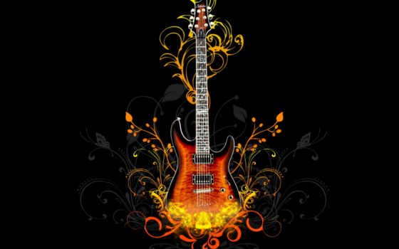 музыка, desktop, гитара, abstract, россия, mouse, illustrated,