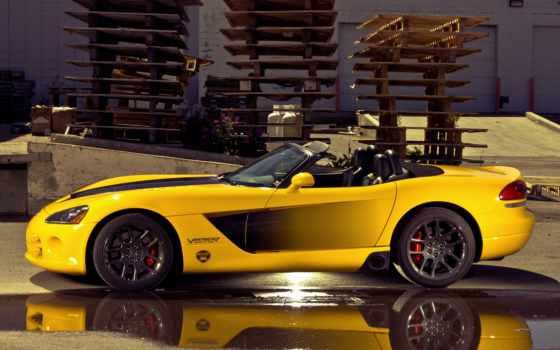 viper, dodge, авто, srt, yellow, gts, широкоформатные, ауди,
